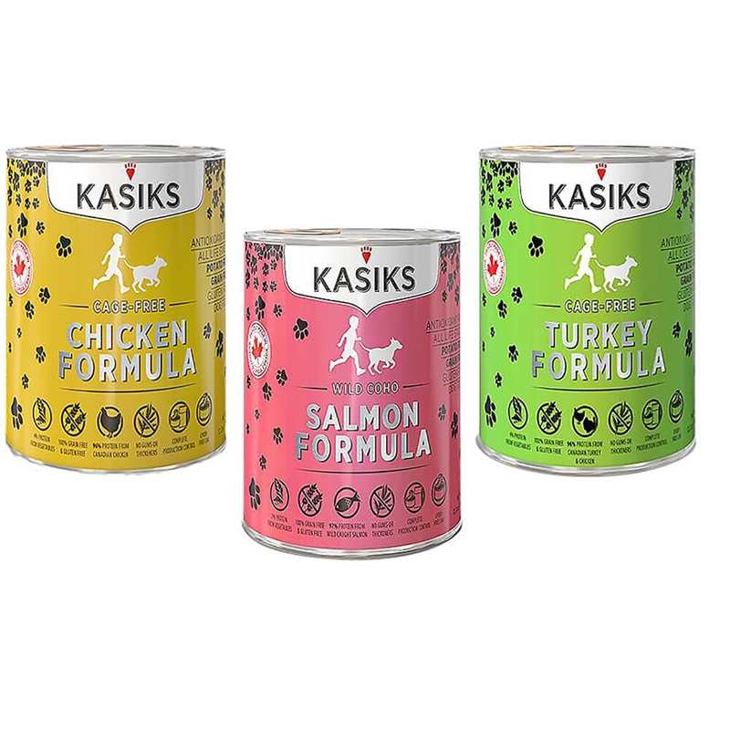 KASIKS DOG & CAT CANNED FOODS