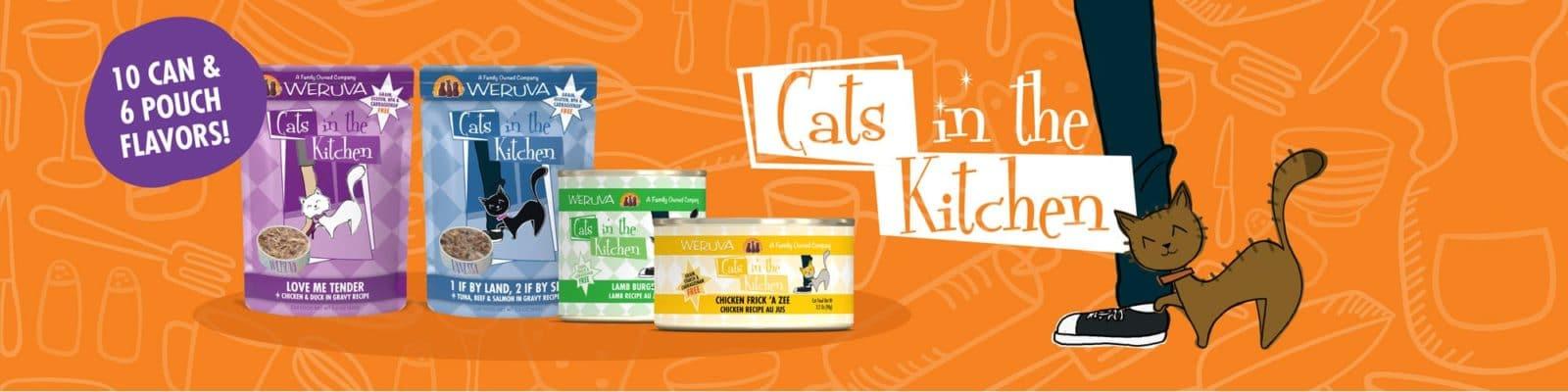 WERUVA CATS IN THE KITCHEN BUY 3 GET 1 FREE!!!