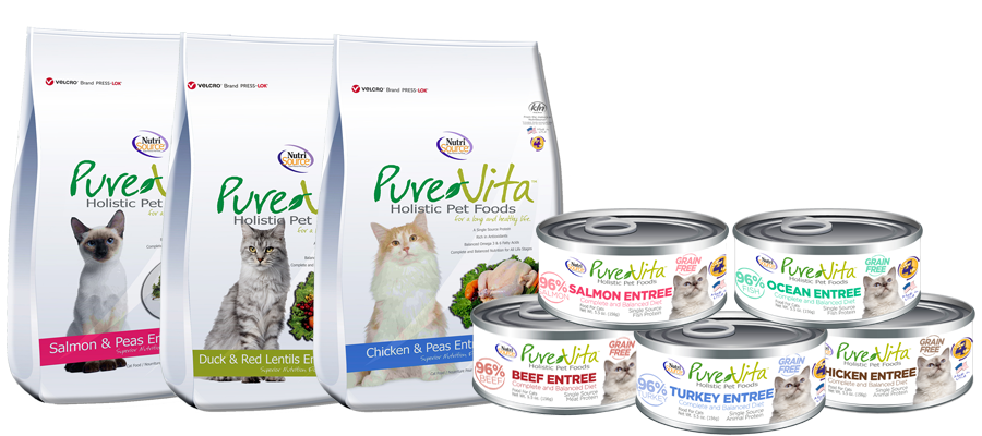 PUREVITA GRAIN FREE CAT FOODS