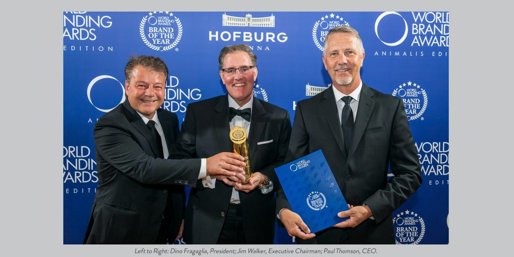 Global Pet Foods is Awarded Brand of the Year
