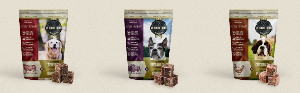 K9 Choice Foods Premium Raw Pet Food